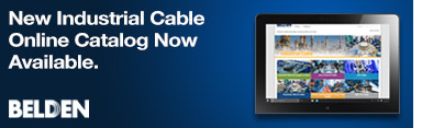 New Industrial Cable online catalog now available
