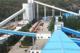 Chinese coal preparation plant (washer facility)