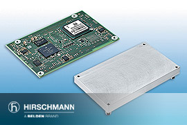 Hirschmann EESX20 and EESX30 embedded Ethernet switches