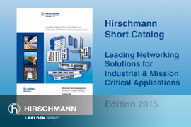 Hirschmann Industrial Networking Short Catalog (English EMEA Version)