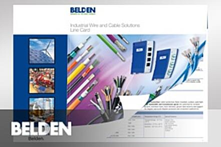 Belden Industrial Wire & Cable Solutions