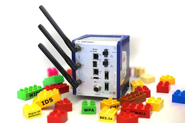 A Construction Kit for Secure Wireless Network Design