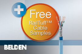 RailTuff™ Railway Approved Ethernet Data Cables