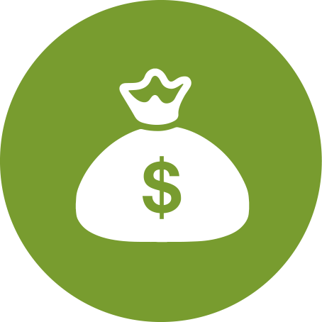 Cost Reduction Icon